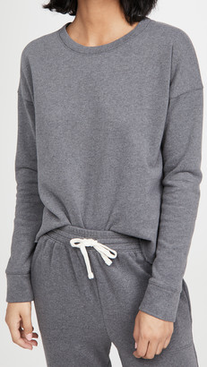 Splendid EcoKnit Recycled Fleece Sweatshirt