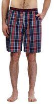 Red Herring Navy Checked Print Shorts