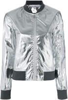 Paco Rabanne metallic bomber jacket