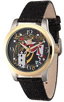 Disney Alice in Wonderland Women's Black Watch