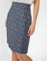 Fat Face Casey Jewel Geo A-Line Skirt