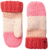 Kate Spade Chunky Knit Color Block Mitten