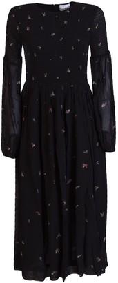 Ganni Printed Dress