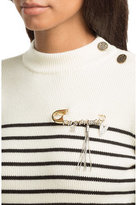 Sonia Rykiel Safety Pin Brooch with Charms