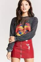 Forever 21 Raw-Cut Boston Graphic Tee