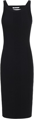Alexander Wang Cutout Ribbed-knit Dress