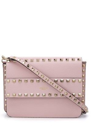 Valentino studded leather clutch bag