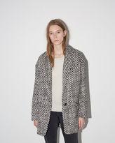 Isabel Marant Ilaria Tweedy Coat