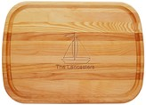 The Well Appointed House Large Personalized Sailboat Cutting Board