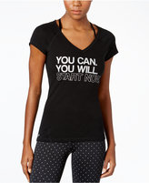 Ideology You Can Graphic V-Neck T-Shirt, Only at Macy's