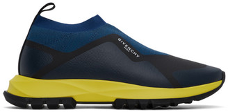 Givenchy Blue Spectre Runner Sock Low Sneakers