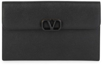 Valentino Large VSling Leather Pouch