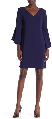 trina Trina Turk Nico Bell Sleeve Dress