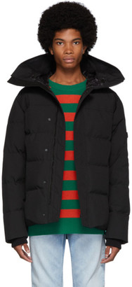 Kenzo Black Down Quilted Puffer Jacket