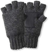 L.L. Bean Ragg Wool Fingerless Gloves