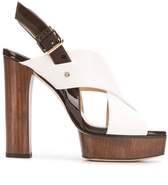 Jimmy Choo Aix platform sandals