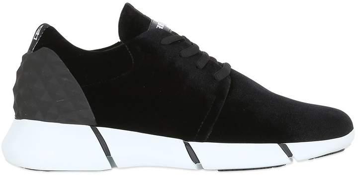 Elena Iachi 30mm Velvet Sneakers