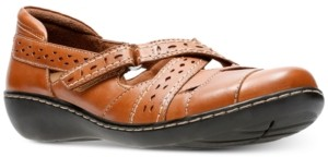 Clarks Collection Women's Ashland Spin Flats Women's Shoes
