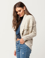 SKY AND SPARROW Shaw Womens Cocoon Cardigan