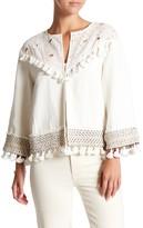 Rachel Zoe Agnes Tassel Trim Jacket