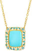 Gurhan Confetti Collection Turquoise Pendant Necklace