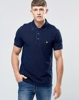 Lyle & Scott Polo Shirt In Dark Indigo
