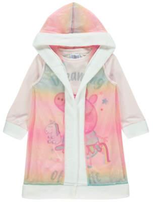 George Peppa Pig Rainbow Nightdress with Cape