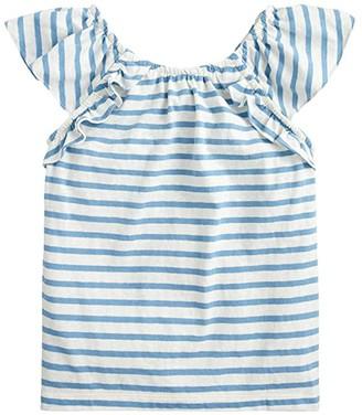 crewcuts by J.Crew Sophia Tank Top Printed (Toddler/Little Kids/Big Kids) (Ivory Pool) Girl's Clothing