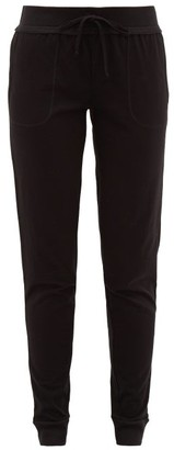 Skin Pima-cotton Track Pants - Black