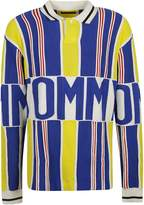 Tommy Hilfiger Stripe Logo Polo Jumper