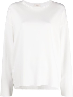Barena Long-Sleeved Slouchy Jersey Top