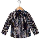Paul Smith Boys' Urban Print Button-Up Shirt