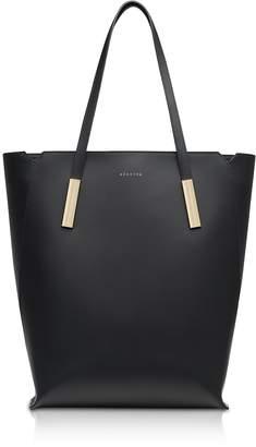 Maison Heroine Black Marta Leather Tote Bag