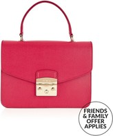 Furla Metropolis Top Handle Bag- Red
