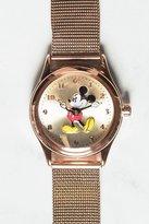 Disney Original Mickey Milanese Watch Rose Gold
