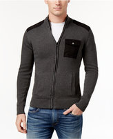 American Rag Men's Full-Zip Mock-Collar Sweater, Only at Macy's