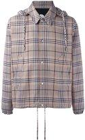 Ami Alexandre Mattiussi hooded jacket - men - Cotton/Polyamide/Virgin Wool - S
