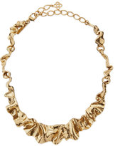 Oscar de la Renta Flounced Ribbon Collar Necklace