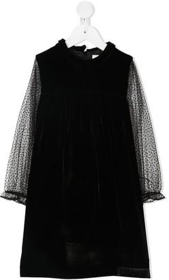 Marie Chantal Fawne Polka Dot Dress
