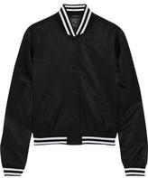R 13 Shrunken Roadie Satin Jacket