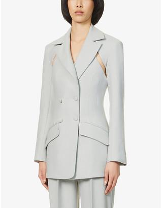 MATÉRIEL Two-piece cut-out woven blazer