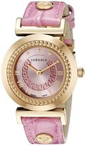 Versace Women's P5Q80D111 S111 VANITY Analog Display Quartz Watch