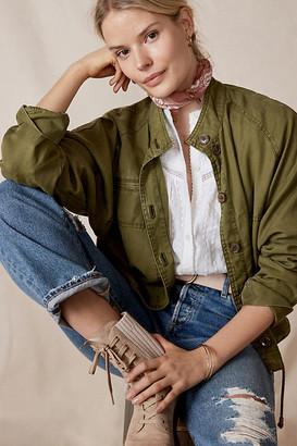Anthropologie Carolyn Utility Jacket By in Green Size XS