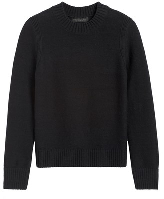 Banana Republic Supersoft Cotton Crew-Neck Sweater