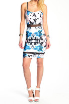 Donna Mizani Mini Cami Dress In Iris