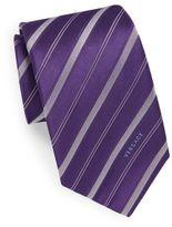 Versace Stitched Silk Tie