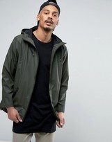Rains Breaker Hooded Jacket Waterproof in Green