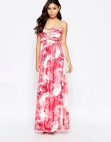 Little Mistress Floral Maxi Cami Dress