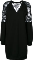 McQ by Alexander McQueen sweatshirt dress - women - Cotton/Polyamide/Spandex/Elastane - M