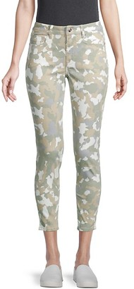Vigoss Camo-Print Skinny Jeans
